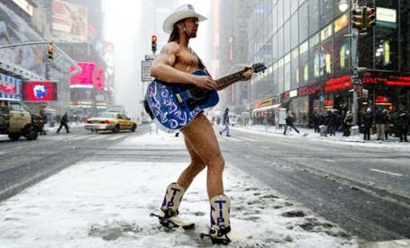 cowboy desnudo