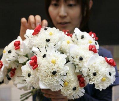 flores hello kitty