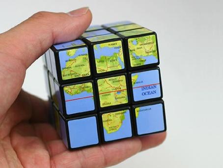 cubo magico de la tierra