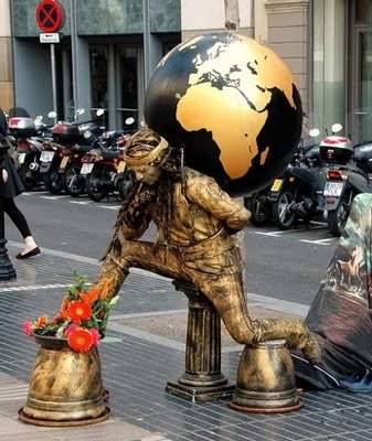 estatuas humanas 3curionotas