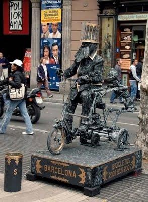 estatuas humanas 4curionotas