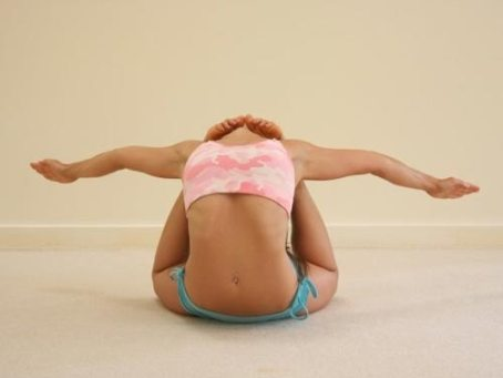 contorsionista pose