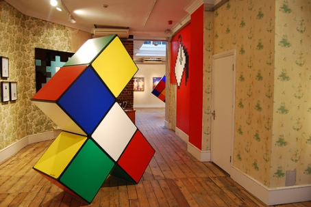 cubo magico invader