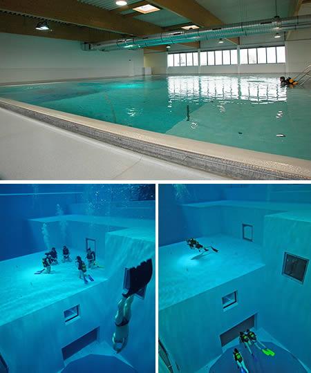 deepest pool